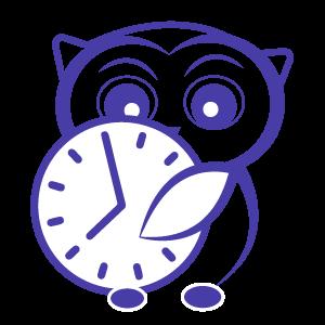 Chouette horloge_Rhéquiliance